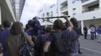 Universite d'été du PS à La Rochelle : Christiane Taubira ovationnée à la réunion des frondeurs