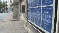 Anniversaire / Attentats de Paris : illustrations de l'hommage rendu par la mairie du XIe arrondissement de Paris ; illustrations de l'hôpital Saint-Louis ; illustrations de la propreté de Paris