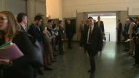 Manuel VALLS en visite à Nancy au lendemain du renoncement de François Hollande ( M6 et Pool TF1)