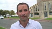 les frondeurs boycottent l'université d'été du PS et se rassemblent à Marennes ITW Hamon