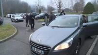 Manuel Valls en campagne électorale dans le Doubs : visite usine Cristel et meeting à Aundincourt