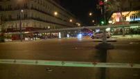 Attentats de novembre 2015 : périmètre bouclé boulevard Voltaire entre la place de la République et le Bataclan