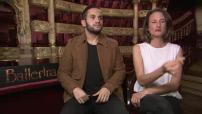 "Interview with Camille Cottin and malik bentalha ""Ballerina"""