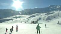 Illustration de la station de ski de Piau Engaly dans les Pyrénées (peu de neige)