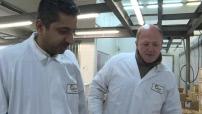 """Visite du chef cuisinier """"Wahid Sylvestre"""" à Rungis pour choisir se spoulardes de Bresse"""