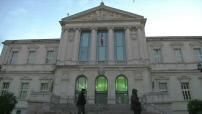 Illustrations Tribunal de Nice par temps couvert