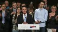 Discours de Manuel Valls lors de meeting à Lievin 2/3