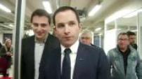 Primaires socialistes : Benoit Hamon en campagne à Toulouse