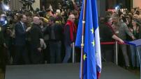 Primaire de la gauche : Benoît Hamon à la Mutualité après sa victoire
