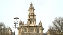Illustrations du plan vigipirate alerte attentat aux abords d'édifices religieux parisiens