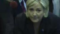Marine Le Pen au salon de l'agriculture 1/2