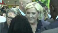 Marine Le Pen au salon de l'agriculture 2/2