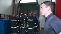 Illustrations de la formation des jeunes sapeurs pompiers de Paris