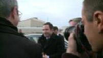 Fos sur Mer : Benoit Hamon en visite chez Kem One