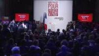 Présidentielle 2017 / Campagne électorale : Benoît Hamon présente son programme électoral à Paris (2/3)