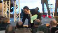 Présidentielle 2017 / Campagne électorale : Benoît Hamon et François Fillon tentent de convaincre la CFDT