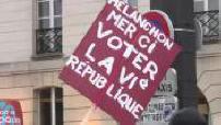 Presidential 2017: Mélenchon organized a march in Paris for the 6th Republic (part 1)