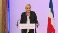 Marine Le Pen présente ses propositions pour lutter contre le terrorisme