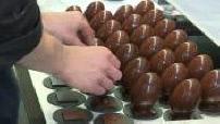 Illustrations du chocolatier Patrick Roger dans son atelier (partie 2)