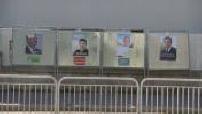 Illustrations des urnes, en sécurité avant d'être déployées dans les bureaux de vote