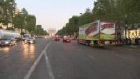 Attentat avenue des Champs Elysées : J et 1