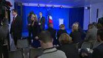 Attentat des Champs Elysées : réaction de Bruno Retailleau au QG de François Fillon