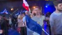 Présidentielle 2017 : les militants du Front national en attente des résultats du premier tour, interview de Steve Briois