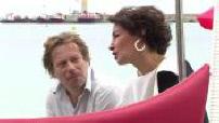 """Festival de Cannes : interview de Jeanne Balibar pour la promotion du film """"Barbara"""" de Mathieu Amalric"""