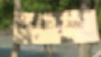 Illustration fabrication d'un radeau et descente du radeau sur la rivière la durance