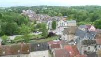 Illustration du village de la Ferté-Milon