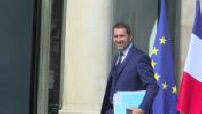 Gouvernement Philippe II : premier conseil des ministres au palais de l'Elysée - arrivées