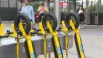 Présentation des moyens de transports en libre service : Knot, Cityscoot et borne Newmotion