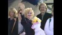 OFF arrivée de Madonna au Bourget