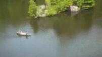 Kayakers doing canoeing near Toronto
