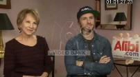 "Interview with Nathalie Baye Philippe Lacheau Julien Arruti and Tarek Boudali for ""Alibi.com"""