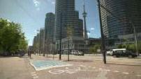 Piste cyclable à Toronto