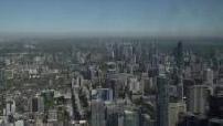 Vues de Toronto depuis le belvédère de la CN Tower 1/2
