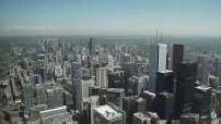 Vues de Toronto depuis le belvédère de la CN Tower 2/2