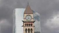 Old and new Toronto City Hall