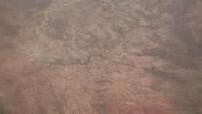 Aerial views of a desert region of Ethiopia