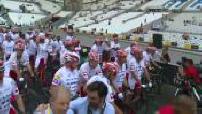 Tour de France : des stars pédalent pour soutenir l'association Mécénat chirurgie cardiaque enfants du monde (1/2)