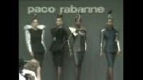 Mode, défilé Paco Rabanne