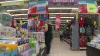 ARS : achats de fournitures scolaires en supermarché