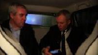 Primaires de Gauche : interview de François de Rugy dans sa voiture