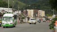 Villavicencio, petite ville de Colombie