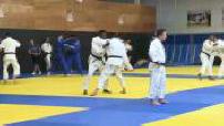 Entraînement de l'équipe de France de judo à l'INSEP Paris (1/2)
