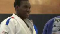 Entraînement de l'équipe de France de judo à l'INSEP Paris (2/2)