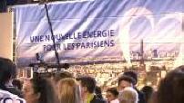 Municipal 2014: first campaign rally Nathalie Kosciusko-Morizet in the presence of Nicolas Sarkozy