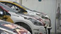 Rallycross Lohéac (2/6): spotters, Peugeot Sport stand