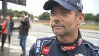 Lohéac Rallycross (6/6) : ITW Sébastien Loeb, sporting joy, Peugeot Sport stand